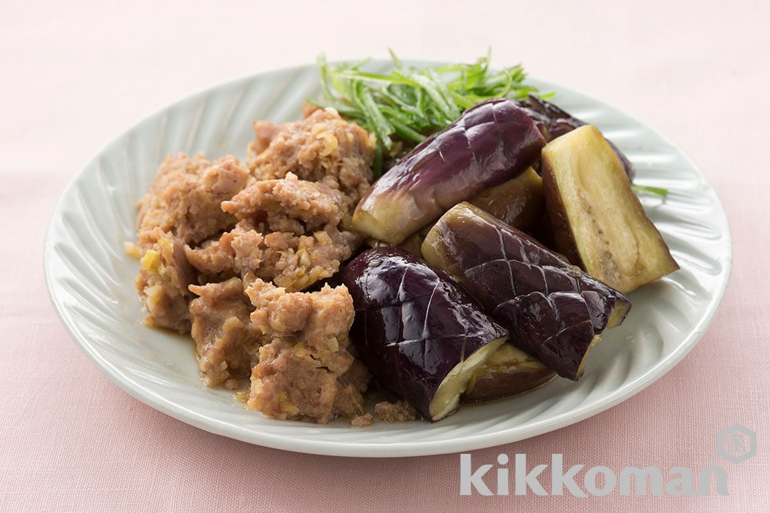 Photo: Steamed Eggplant with Minced Meat