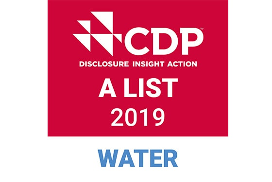 CDP DISCLOSURE INSIGHT ACTION A LIST 2019  WATER