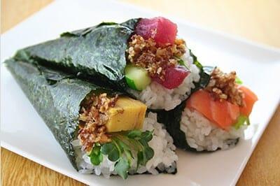 サクサク手巻き寿司